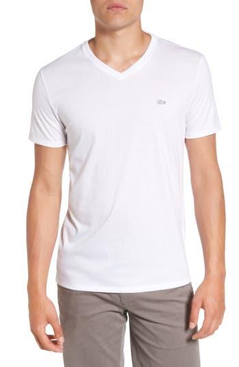 Lacoste Pima Cotton T-Shirt, White