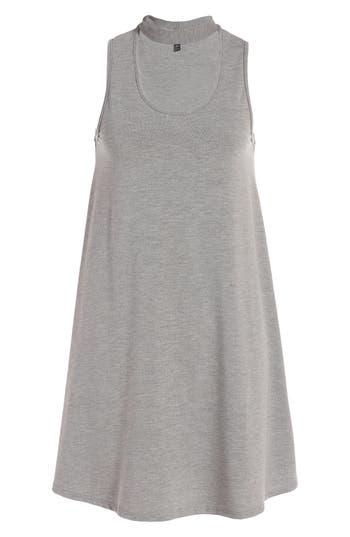 Topshop Flippy Choker Tunic, US (fits like 0) - Grey