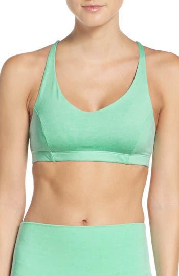 Onzie Pyramid Sports Bra, Size M/L - Green