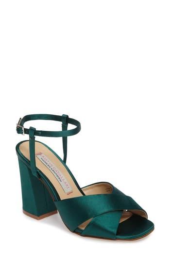 Kristin Cavallari Low Light Cross Strap Sandal, Green