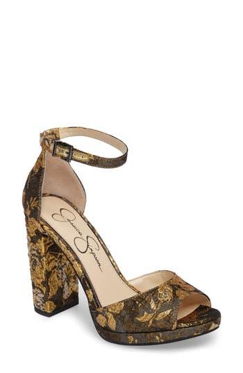 Jessica Simpson Jenee Platform Sandal- Metallic