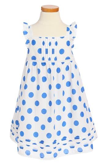 Girl's Mini Boden Lace Trim Dress