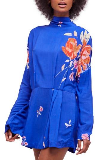 Free People Gemma Minidress, Blue