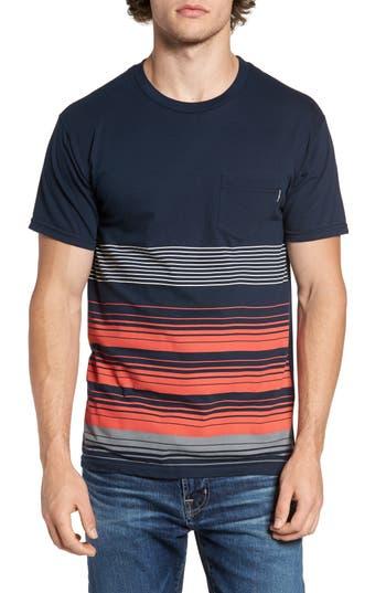 Men's O'Neill Lennox Stripe T-Shirt, Size Large - Blue