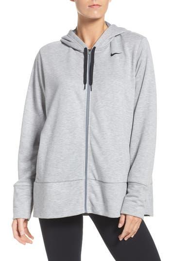 Plus Size Nike Dry-Fit Oversize Zip Hoodie