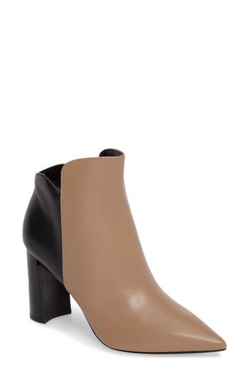 Marc Fisher Ltd Harper Pointy Toe Bootie, Beige