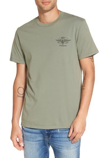 Obey No Remorse No Regrets Graphic T-Shirt, Green