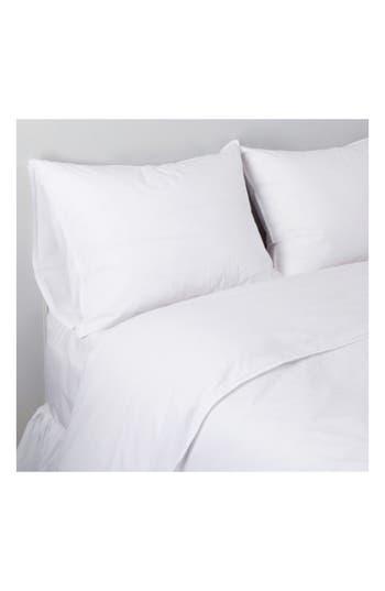 Pom Pom At Home Parker Cotton Duvet Cover & Sham Set, Size Twin - White