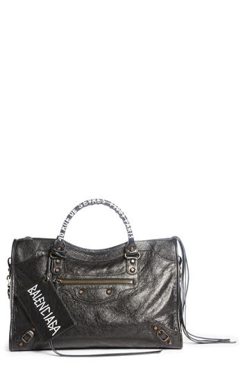 Balenciaga Classic City Leather Tote - Black at NORDSTROM.com