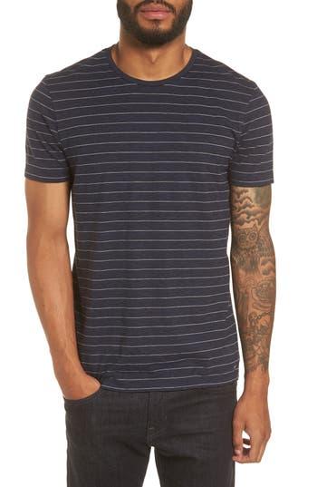 Boss Hugo Boss Tessler Stripe Slim Fit T-Shirt, Blue