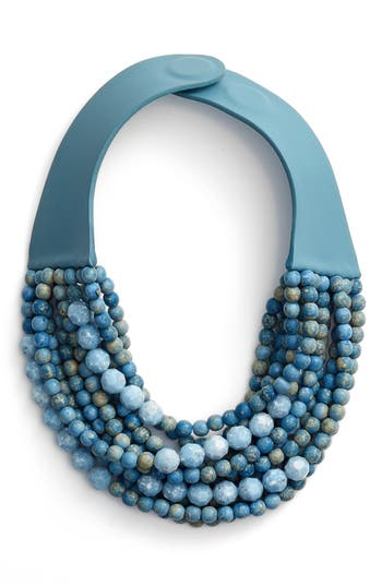 Women's Farichild Baldwin Marcella Beaded Collar Necklace