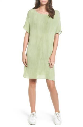 Cotton Emporium Woven Shift Dress, Green