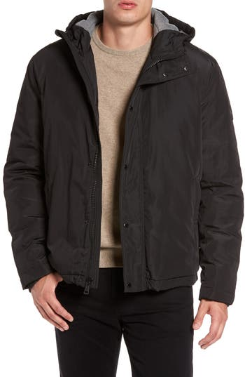 Cole Haan Water Resistant Insulated Jacket, Black