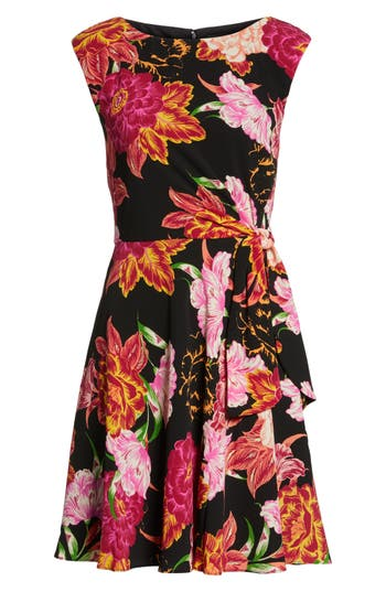 Women's Tahari Faux Wrap Dress