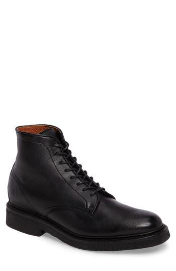 Frye Country Plain Toe Boot, Black
