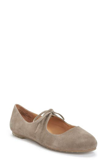 Me Too Cacey Mary Jane Flat- Grey
