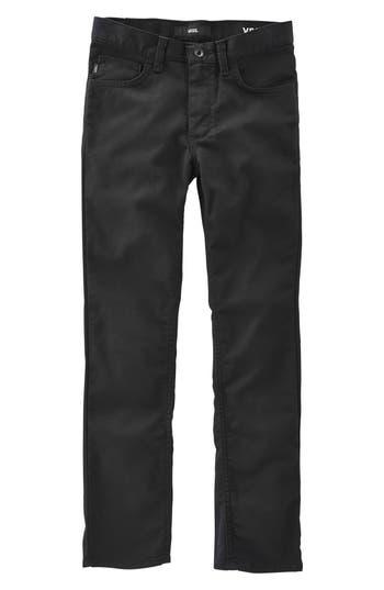 Boys Vans V56 Standard Av Covina Pants Size 29  Black