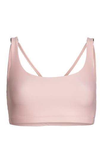 Onzie Infinity Sports Bra, Size S/M - Pink