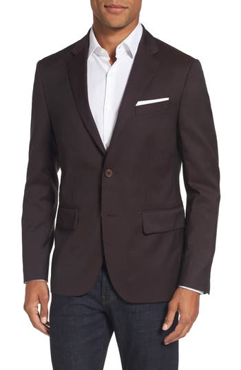 Gant Travel Suit Jacket, Purple