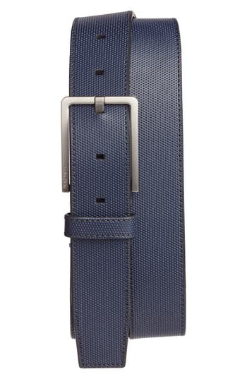 Calvin Klein Leather Belt, Ink