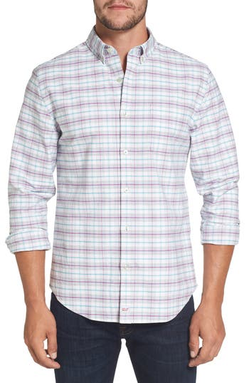 Men's Vineyard Vines Lockwood Slim Fit Check Sport Shirt
