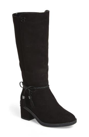 Girl's Michael Michael Kors Fawn Simmy Riding Boot, Size 5 M - Black