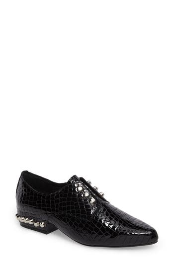 Jeffrey Campbell Gaspard Studded Derby, Black