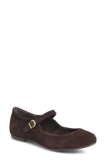 B?rn Arnor Mary Jane Flat, Brown