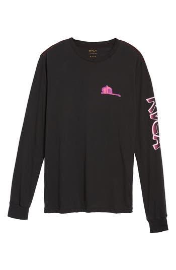 Rvca Hot Rod Graphic T-Shirt, Black