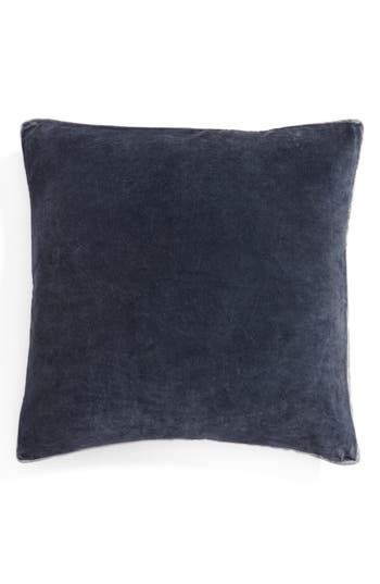 Nordstrom At Home Velvet Accent Pillow, Size One Size - Blue