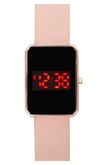 Women's Titanium Led Watch