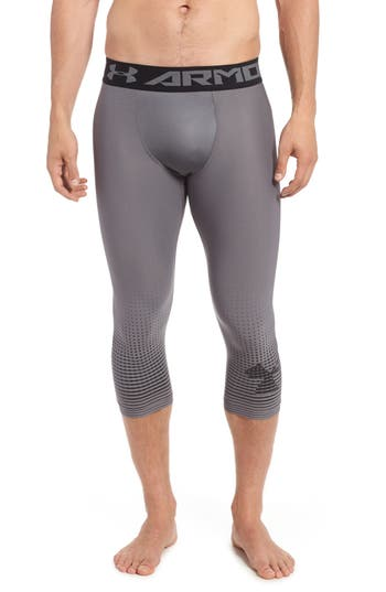 Under Armour Three Quarter Compression Pants, Black