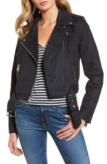 Women's Levis Faux Suede Moto Jacket