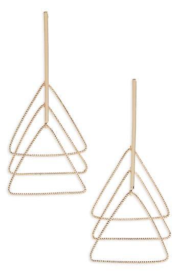 Women's Natasha Triangle Drop Earrings