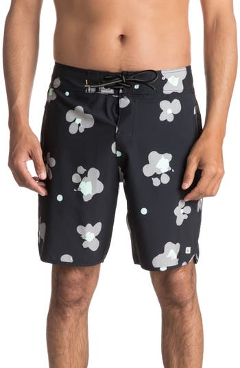 Quiksilver Waterman Collection Pelai Board Shorts, Black