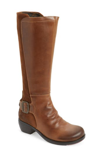 Fly London Miss Boot - Brown