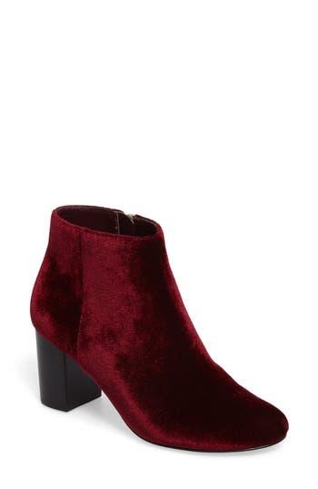 Bella Vita Klaudia Ii Block Heel Bootie, Burgundy