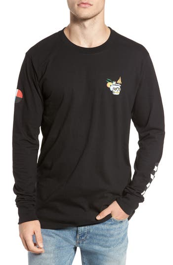 Billabong Pelletier Cocktail Graphic T-Shirt, Black