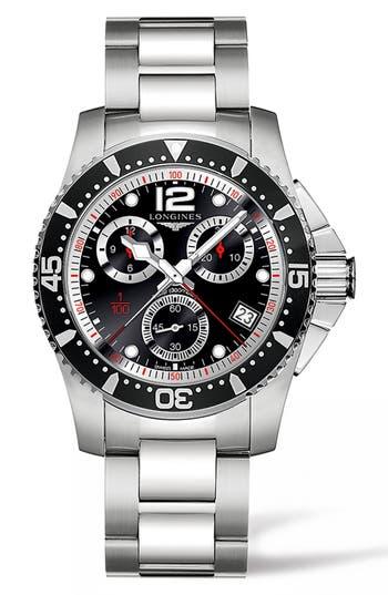 Longines Hydroconquest Chronograph Bracelet Watch, 41Mm