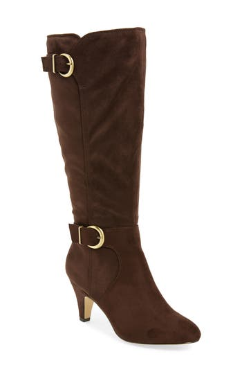 Bella Vita Toni Ii Knee High Boot, Wide Calf- Brown