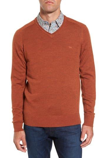 Rodd & Gunn Burfield Wool Sweater, Orange