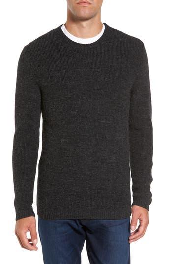 Rodd & Gunn Whalers Bay Merino Wool Blend Sweater, Black