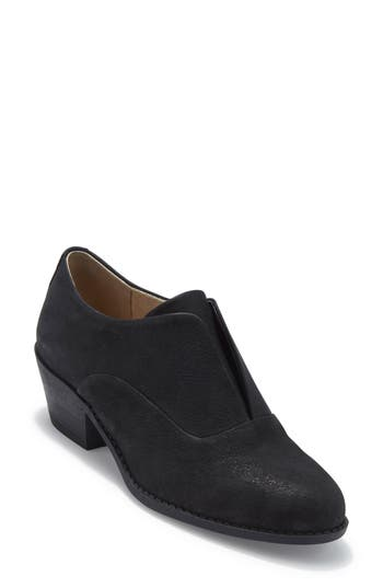 Me Too No Lace Oxford- Black