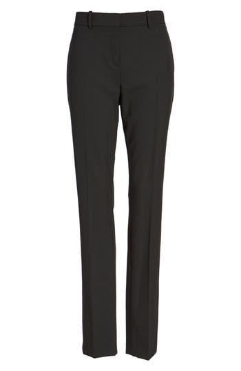 Women's Theory 'Super Slim Edition' Stretch Wool Pants