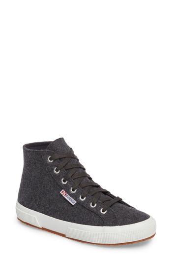 Superga 2795 High Top Sneaker, Grey