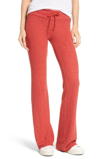 Dream Scene Flare Track Pants, Red