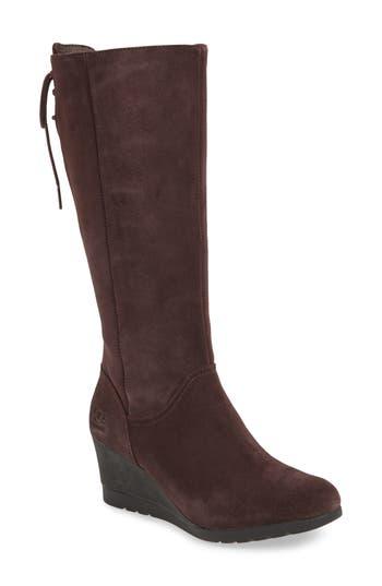 Ugg Dawna Waterproof Wedge Boot- Brown