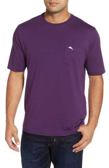Big & Tall Tommy Bahama Bali Skyline Pocket T-Shirt, Purple