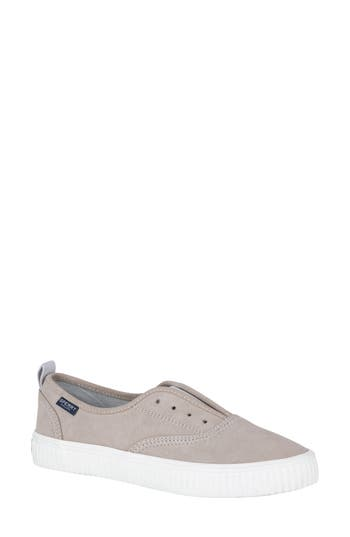 Sperry Crest Creeper Slip-On Sneaker, Grey