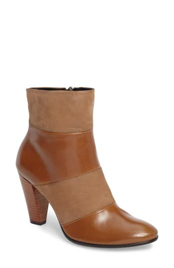 Ecco Shape 75 Pieced Bootie, Brown